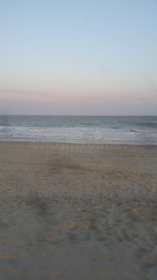 Beach retreat royalty free stock photos