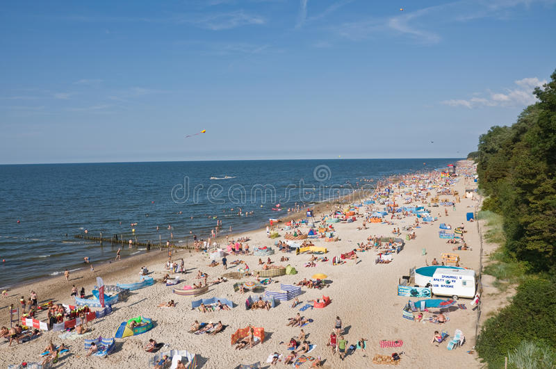 Beach in Rewal royalty free stock images