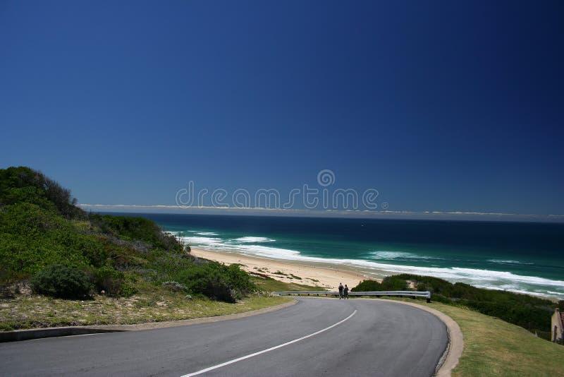 Beach Road Royalty Free Stock Photos