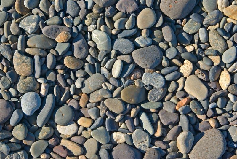 Beach rocks stock image