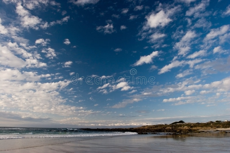Download Beach with Rocks stock image. Image of alone, scenery, holidays - 691185