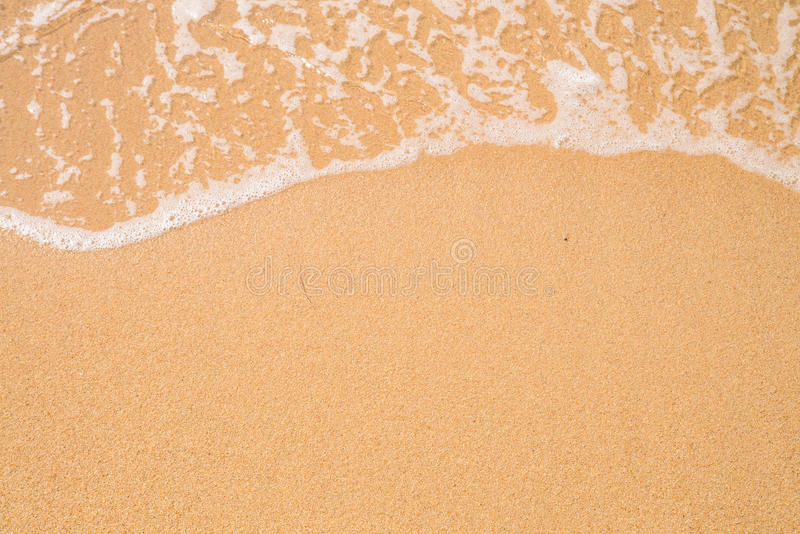 Download Beach Sand Background Wave And Border Stock Image