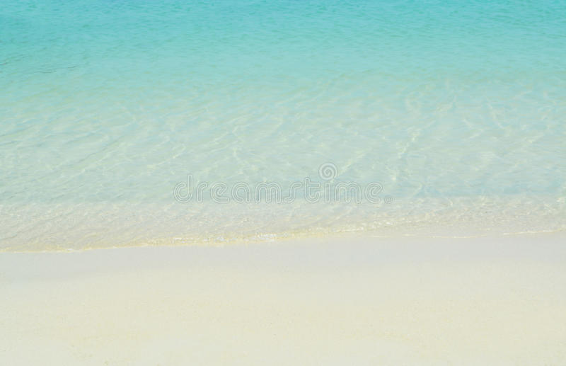 Download Beach And Sand Blue Sea Water Background Stock Image