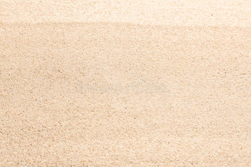 Beach sand, closeup royalty free stock photography