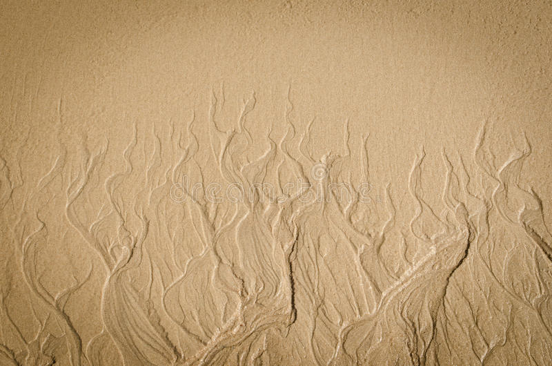 Download Beach Sand Resembling Flames Stock Photo - Image: 26441700