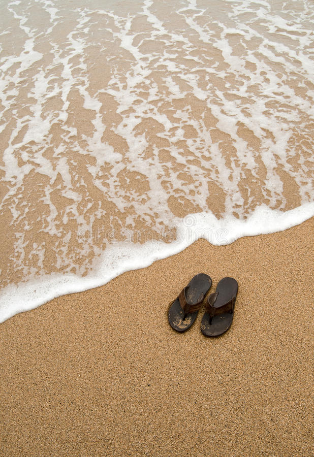 Download Beach sandals stock image. Image of sandals, sandal, grey - 18644365