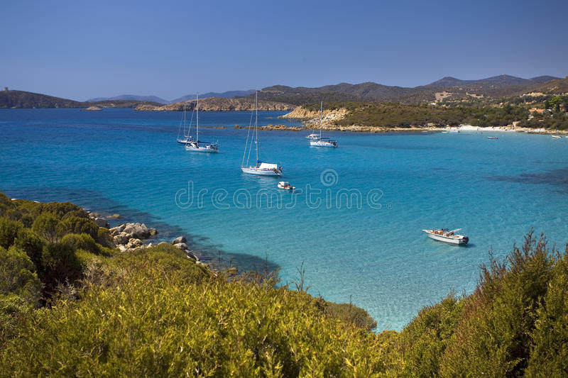 Download Beach of Sardinia stock image. Image of fishing, nature - 10085531