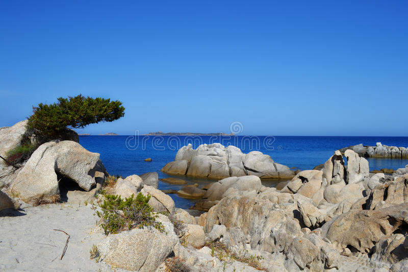 Beach in Sardinia, Italy royalty free stock images