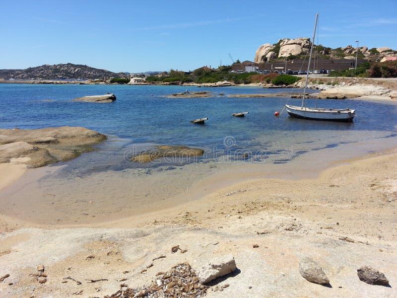 Beach in Sardinia royalty free stock photo