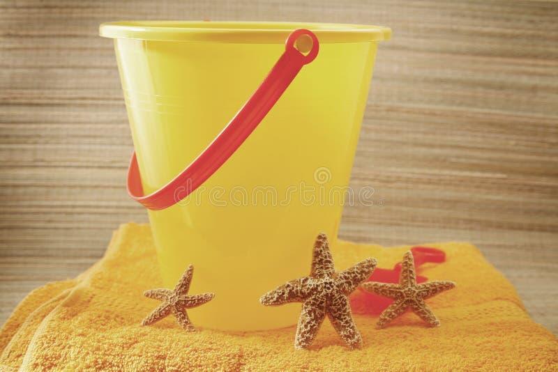 Download Beach Scene stock photo. Image of marine, plastic, towel - 1080094