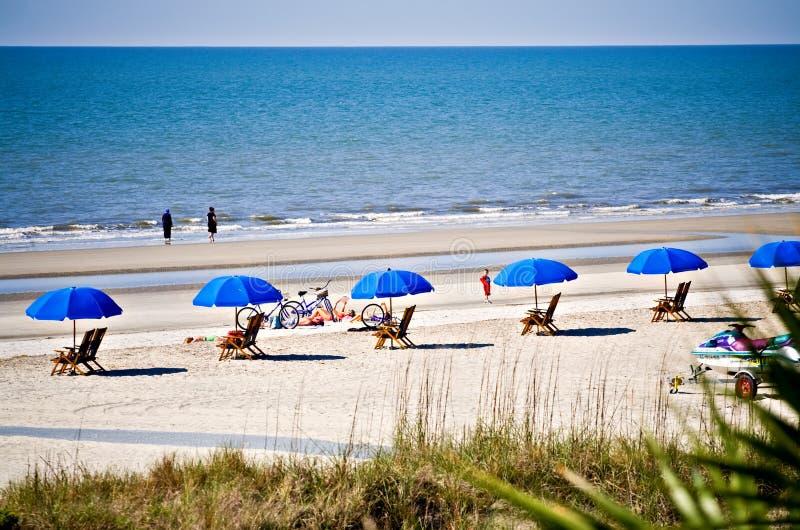 Beach Scene stock photos