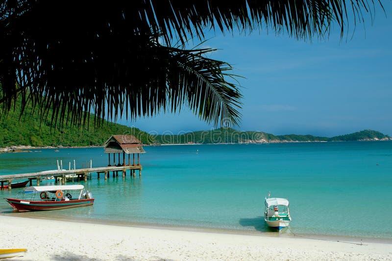 Beach scenery stock image