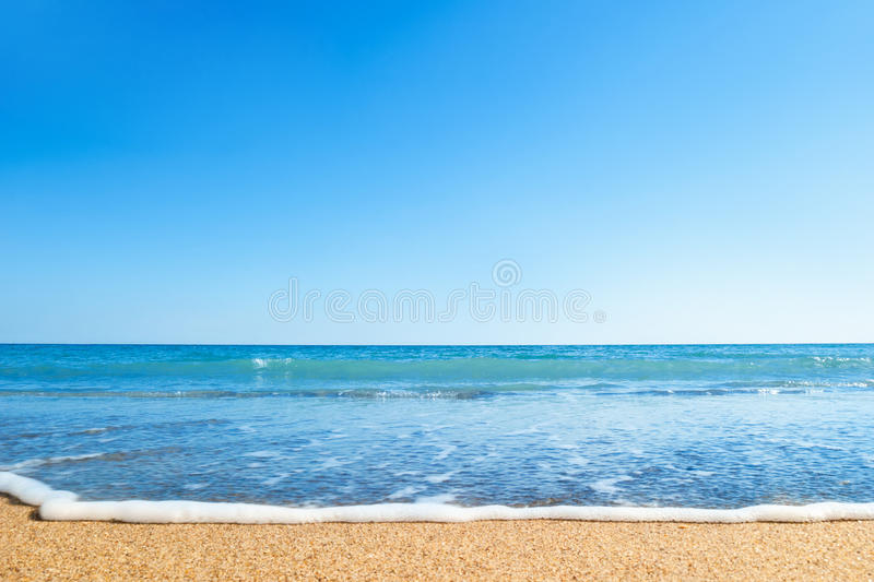 Download Beach and sea stock image. Image of natural, relax, sunlight - 18454369