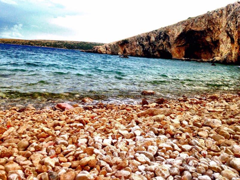 Sea side royalty free stock photo