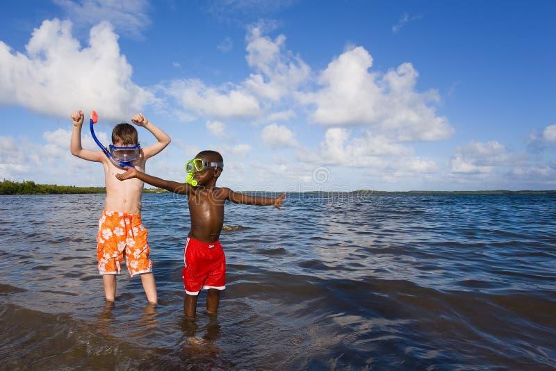 Beach Series - Diversity stock photography