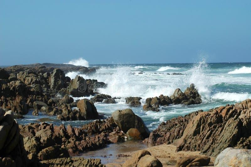 Download Beach Series: Waves Crashing In Stock Image - Image: 691927