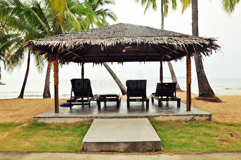 Beach shack at Malaysia