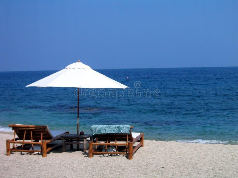Beach Shade stock photo