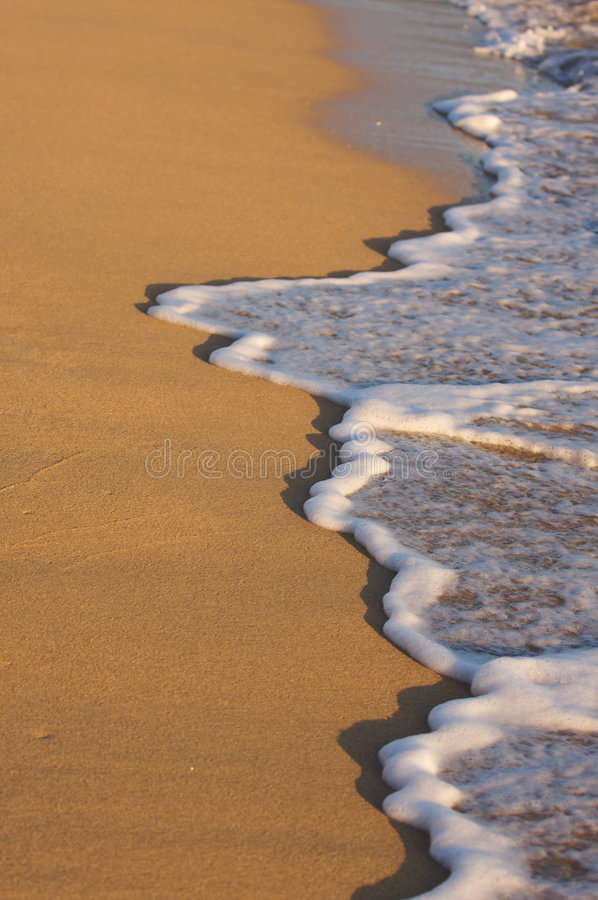 Download Beach Shoreline Wash stock photo. Image of hawaii, beach - 5382698