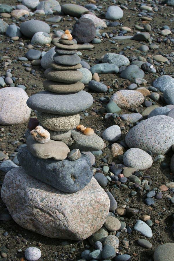 Beach Shrine royalty free stock photos