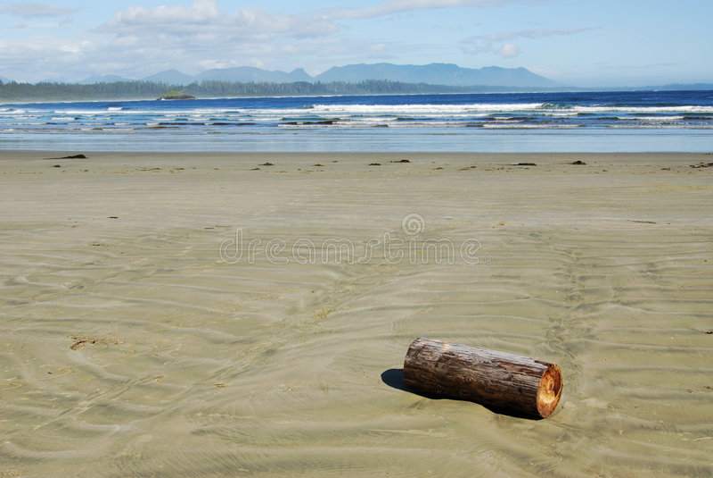 Beach and sky royalty free stock photo