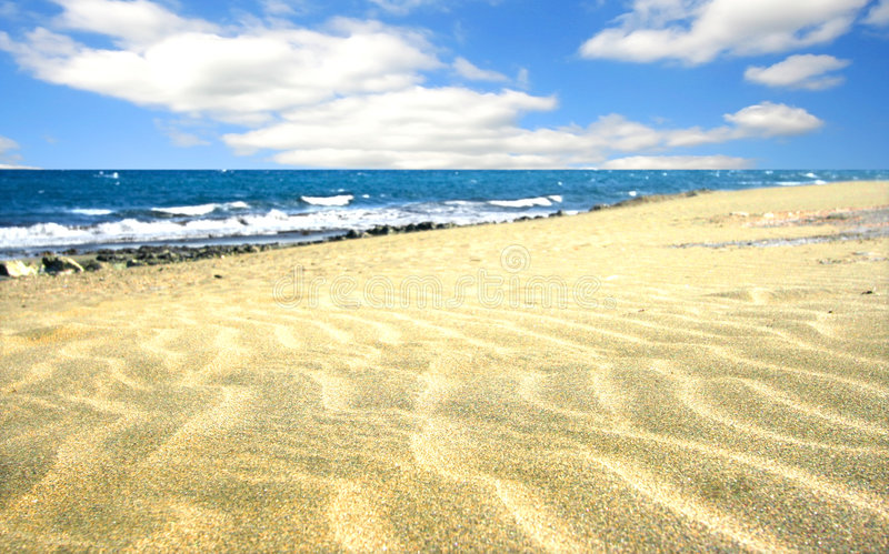 Download Beach With Soft Sand Stock Images - Image: 2308334
