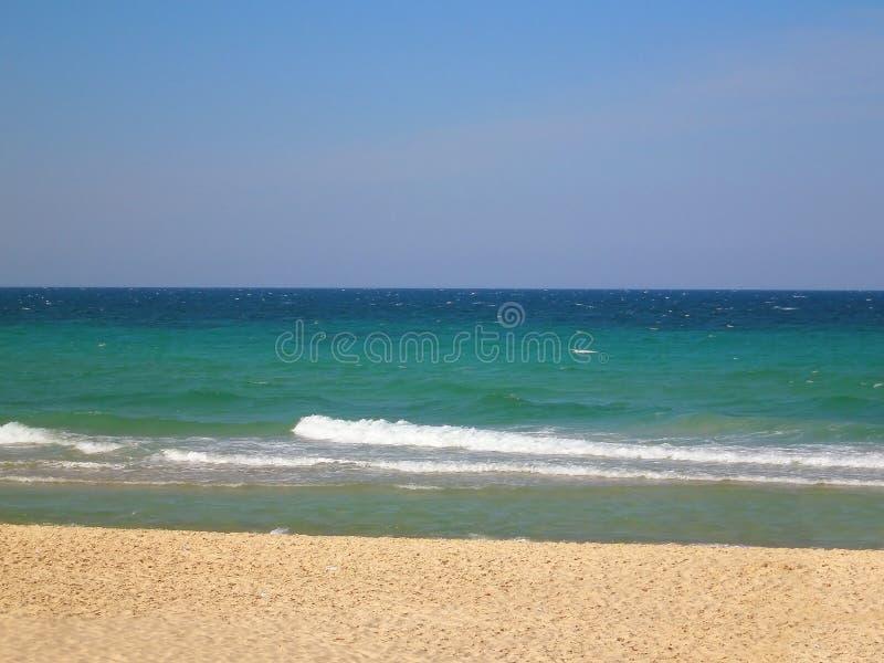 Beach in Sousse, Tunisia stock photos