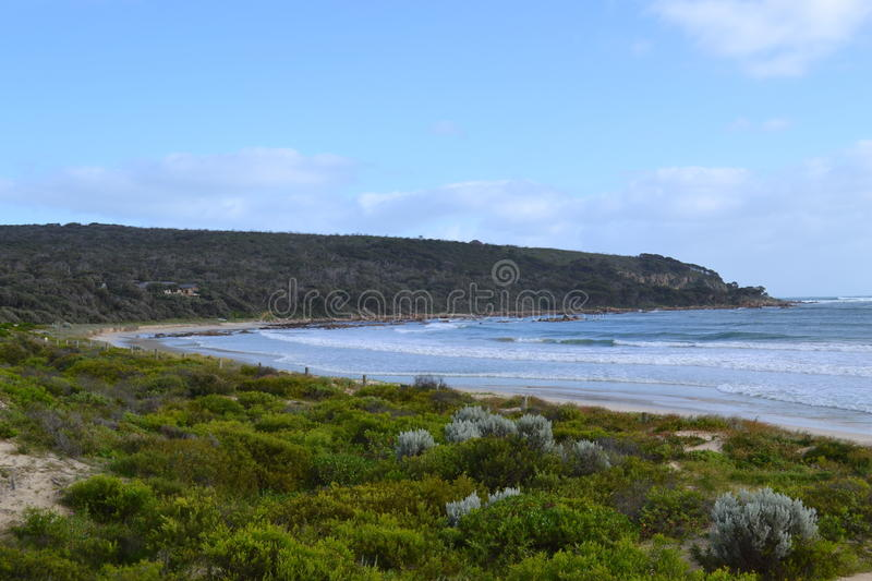 Beach in South West WA stock image