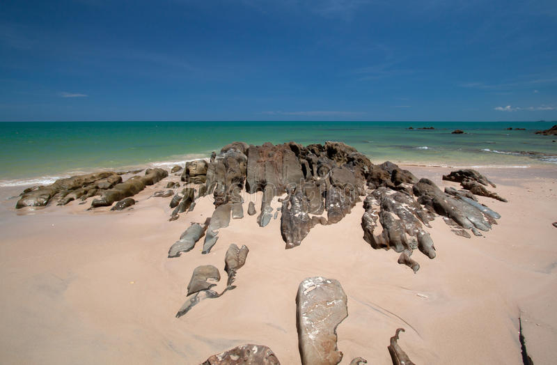 Beach Of Southern Thailand Royalty Free Stock Photo