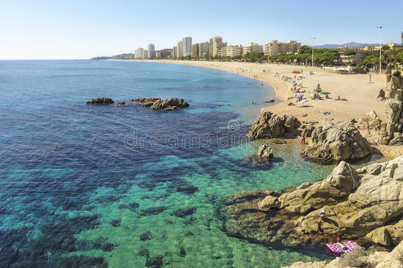 Download Beach In Spain In Autumn Editorial Photography - Image: 26841547