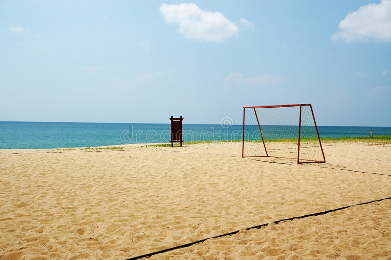 Download Beach sport stock photo. Image of vacation, clean, futsal - 2481206