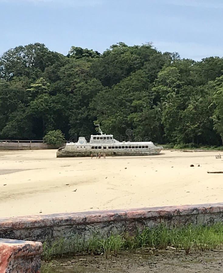 beach statku zdjęcia stock