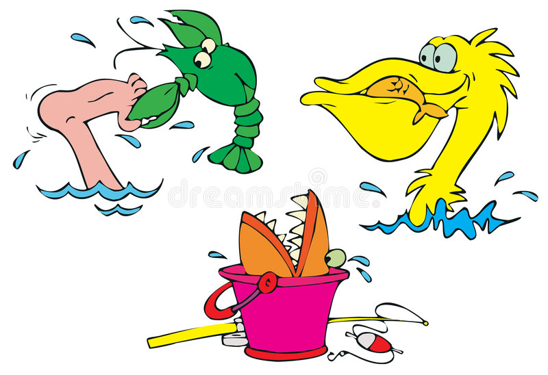 Download Beach stickers stock vector. Image of humorous, childish - 3153344