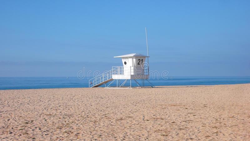 Beach in summer royalty free stock photo