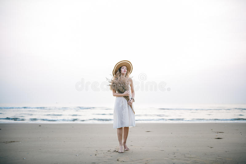 Beach Summer Holiday Vacation Traveling Relaxation royalty free stock photo