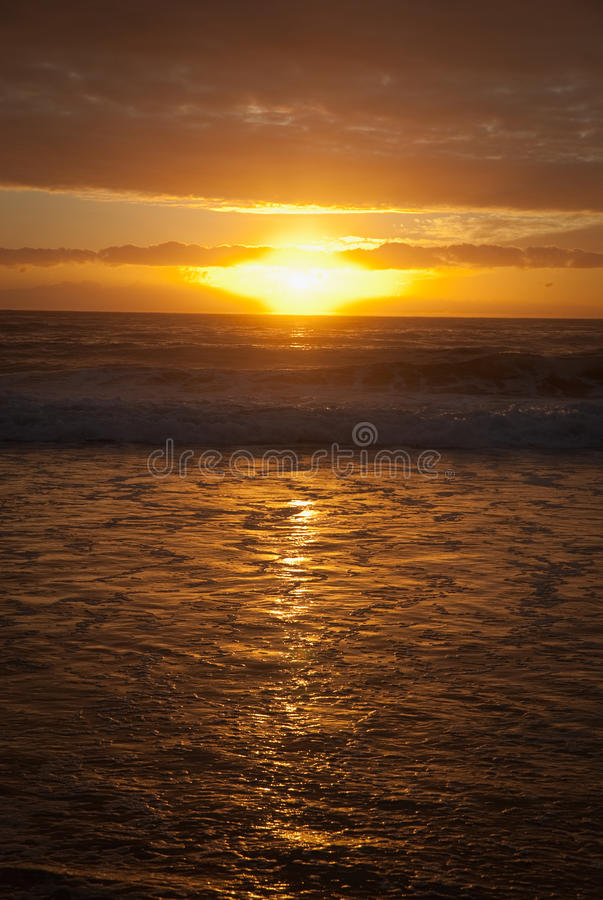 Download Beach Sunrise stock photo. Image of ripples, wales, water - 10371948