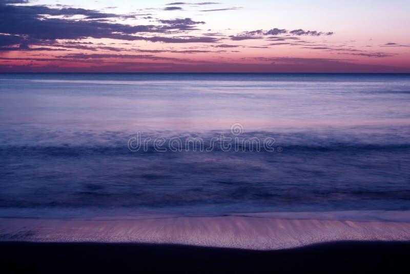 Download Beach Sunrise stock image. Image of pink, crack, shore - 1131343