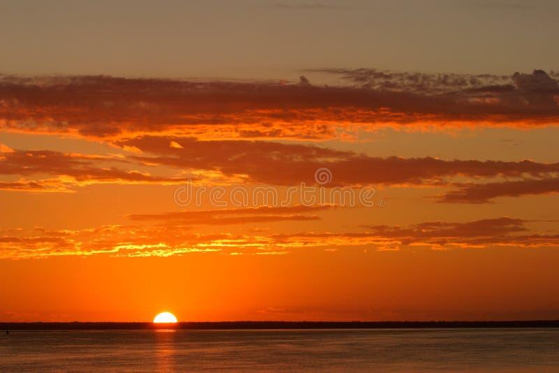 Download Beach sunset stock photo. Image of surf, paradise, coastline - 2496198
