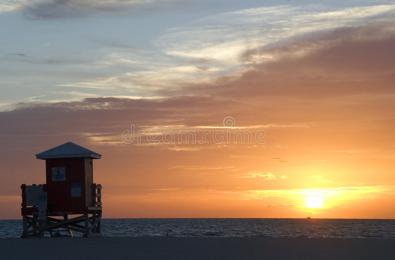 Download Beach sunset stock photo. Image of nature, water, sunset - 3204994