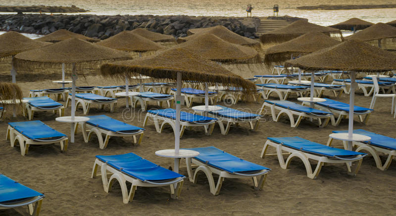 Beach in Tenerife royalty free stock photo