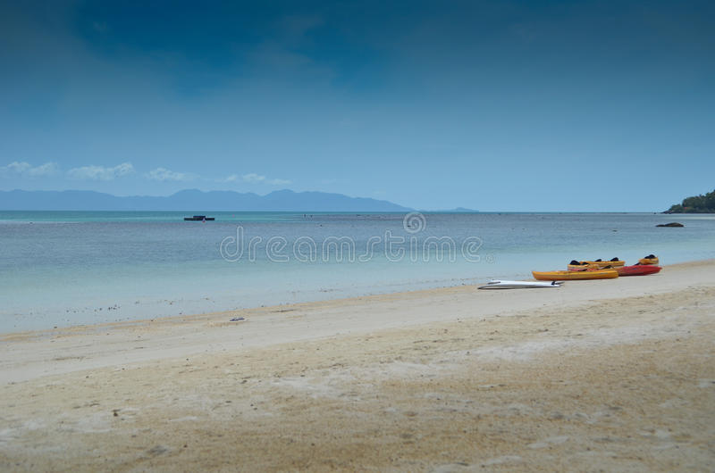 Beach in Thailand royalty free stock images