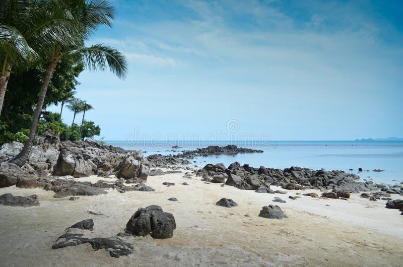 Beach in Thailand royalty free stock photos