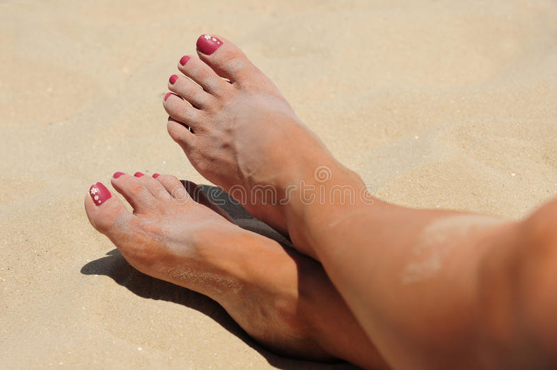 Download Beach Toes Stock Photos - Image: 15964453