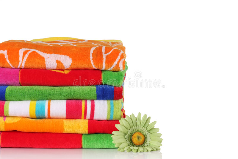 Download Beach towels stock image. Image of bright, soft, summer - 9097657