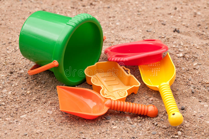 Download Beach toys stock image. Image of plastic, toys, handle - 14818135