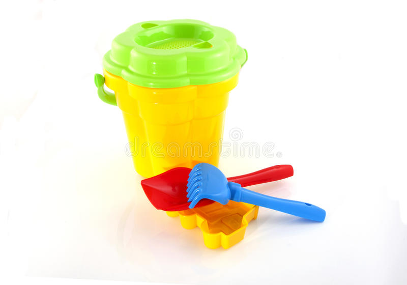 Download Beach toys stock illustration. Image of pail, child, holiday - 14864711