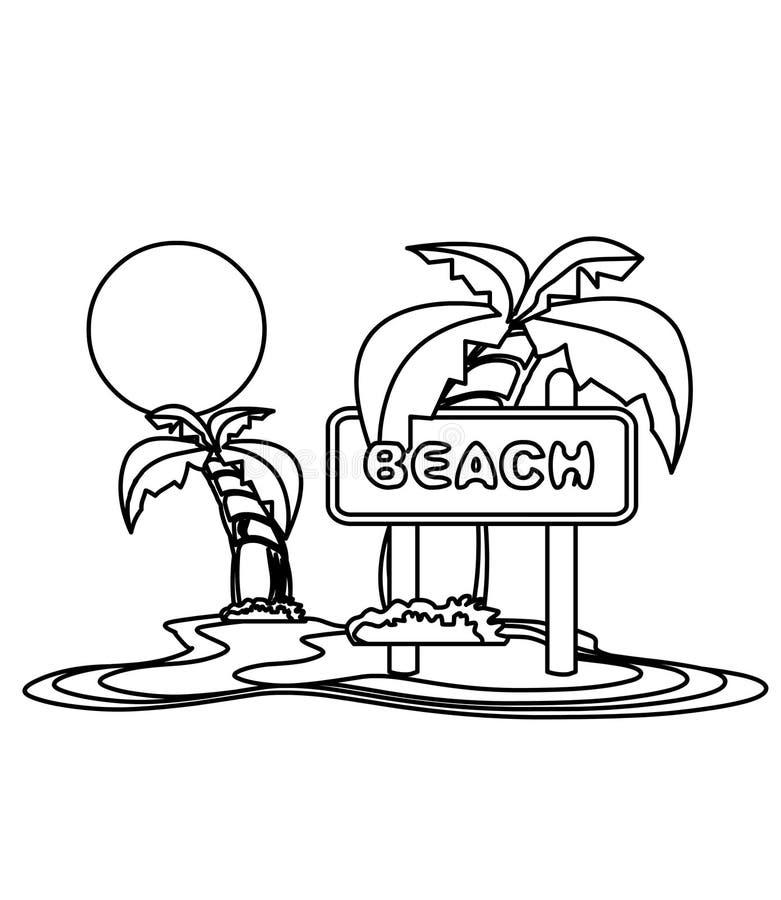 Beach Coloring Stock Illustrations – 3,455 Beach Coloring Stock  Illustrations, Vectors & Clipart - Dreamstime