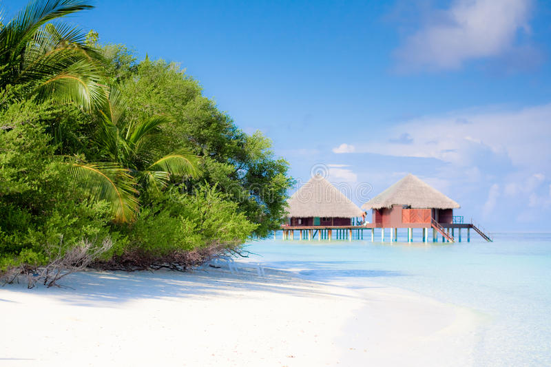 Download Beach on tropical island stock image. Image of relaxation - 28592001