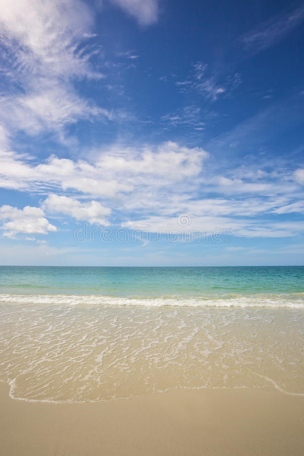 Download Beach and tropical sea stock photo. Image of dream, sunshine - 26168738