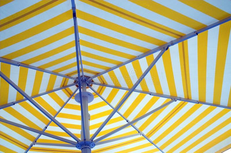 beach umbrella 免版税库存图片